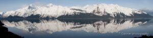 Chilkat, fjord, inlet, reflection, Haines, AK, Alaska, springtime