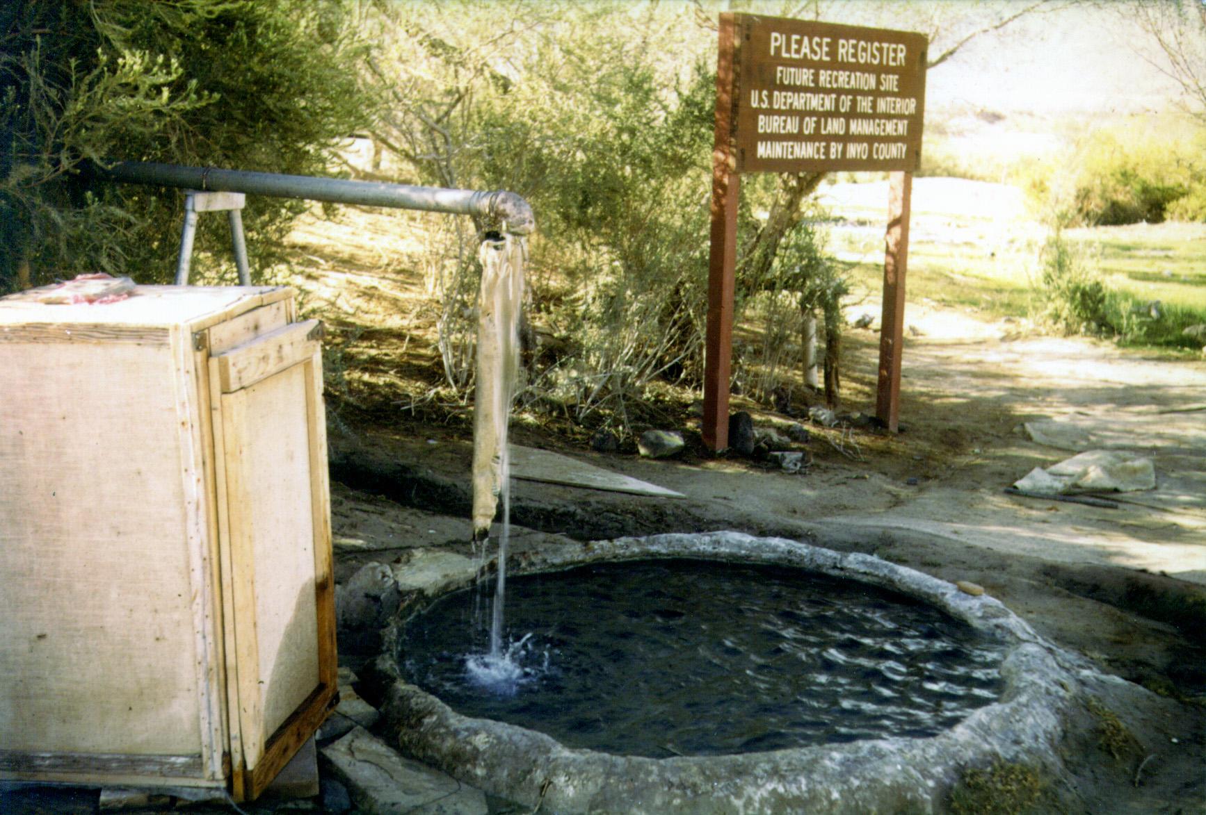 Saline Valley, Saline Chronicles, Saline Valley Hot Tubs, Lower Warm Spring