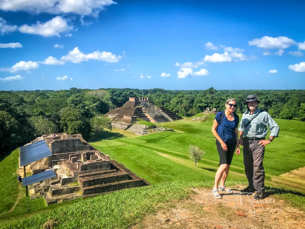 Mexico, Tabasco, Mayan, ruins, Comocalco