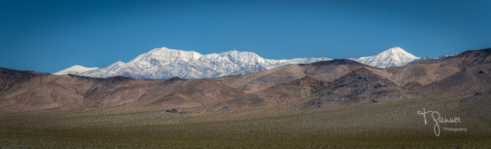Searles Valley, Panamint Range, Telescope Peak