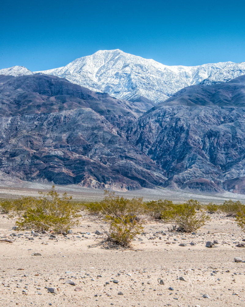 Panamint Range, Telescope Peak, Panamint Valley, Death Valley