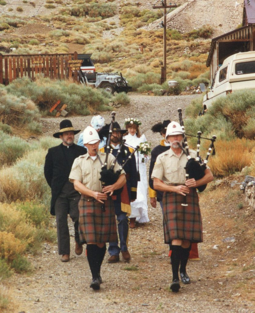 Wedding at Cerro Gordo