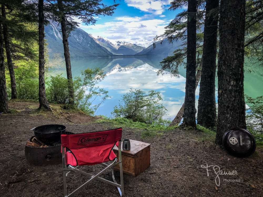 Chilkoot State Park, Chilkoot Lake, making peace with the pandemic