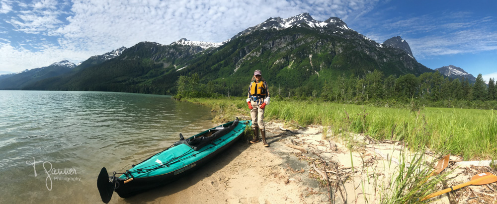 Chilkoot State Park, Chilkoot Lake, Klepper Kayak, making peace with the pandemic