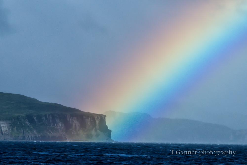 Rainbow, Aleutian Islands, AMHS, Alaska, Alaska Marine Highway System, Tustumena