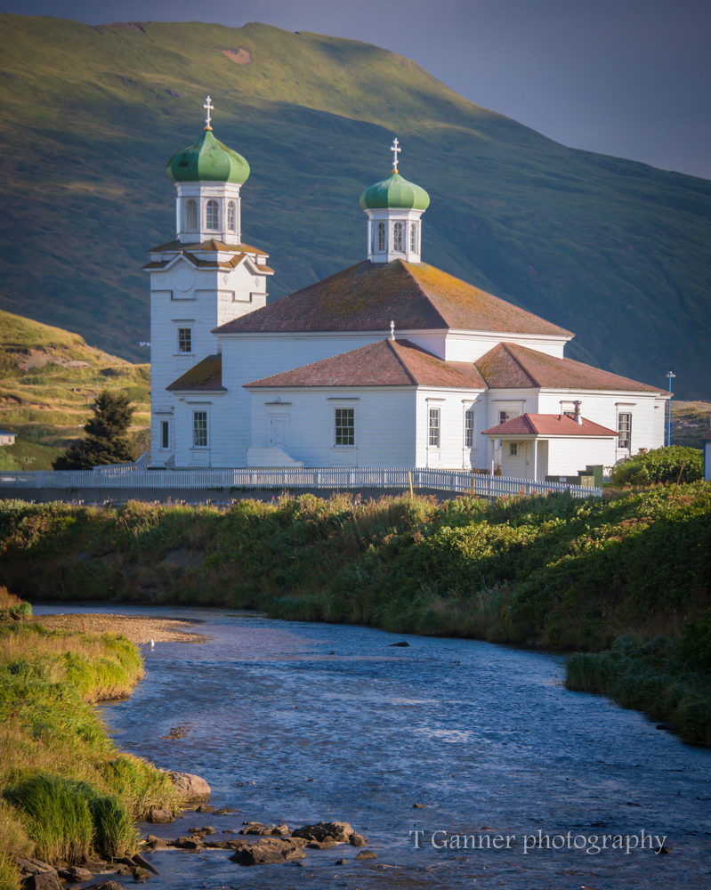 Aleutian Islands, AMHS, Alaska, Alaska Marine Highway System, Unalaska, Dutch Harbor, Russian Orthodox Church of the Holy Ascension