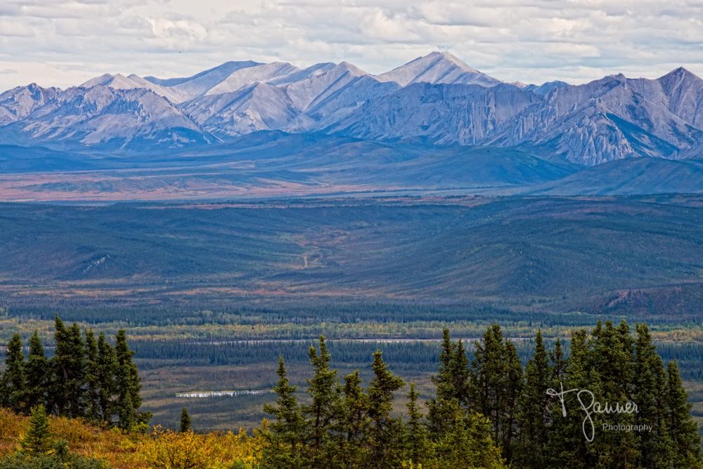 Dempster Highway, Yukon Territory, Ogilvie Mountains, Eagle Plains