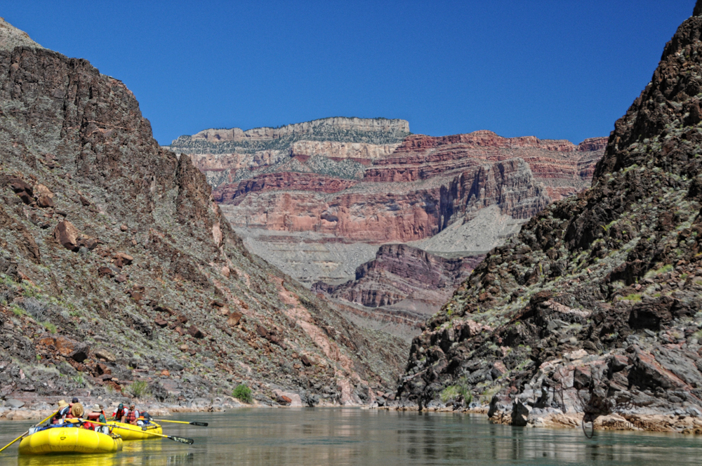 Grand Canyon, Colorado River, rafting