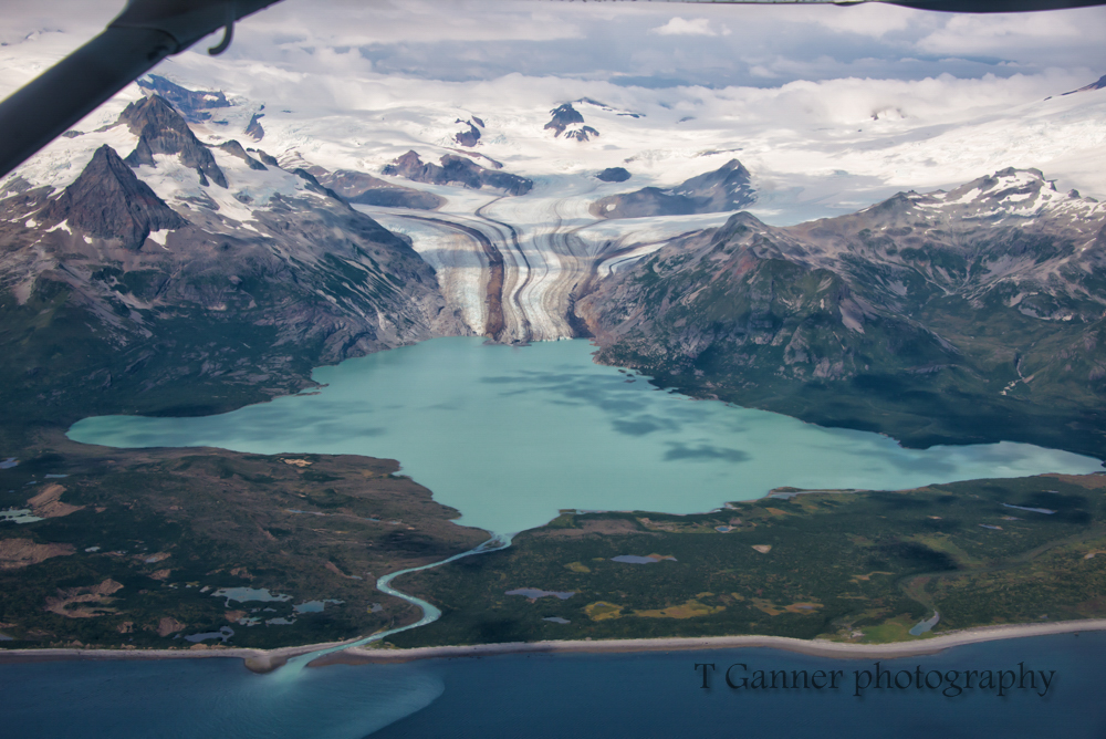 flightseeing, Alaska, Katmai National Park