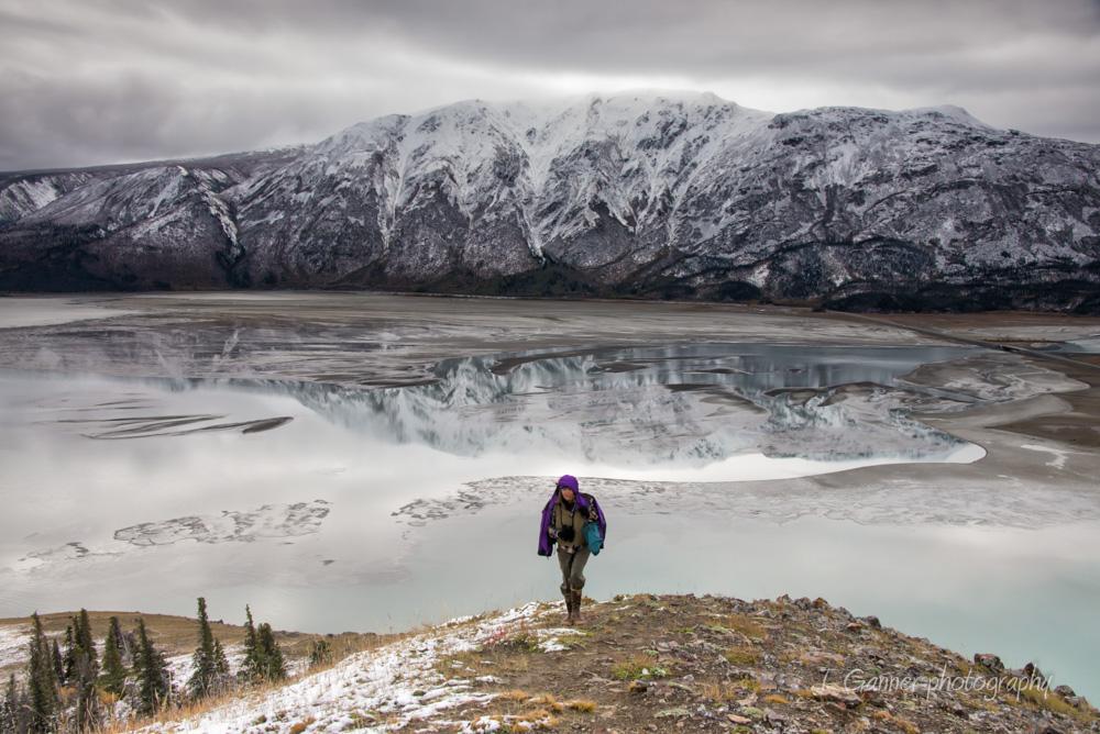 Kluane, Yukon Territory, Kluane Lake
