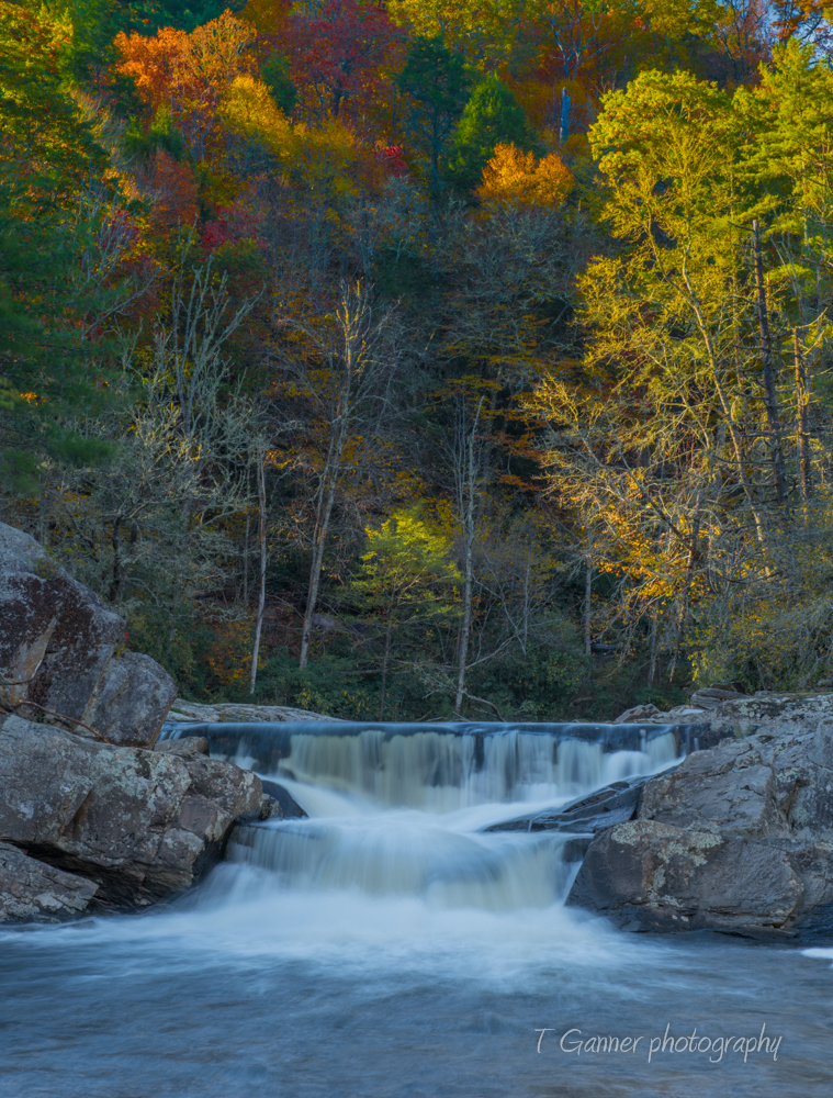 North Carolina, Linville Falls, autumn, foliage, North Carolina Autumn