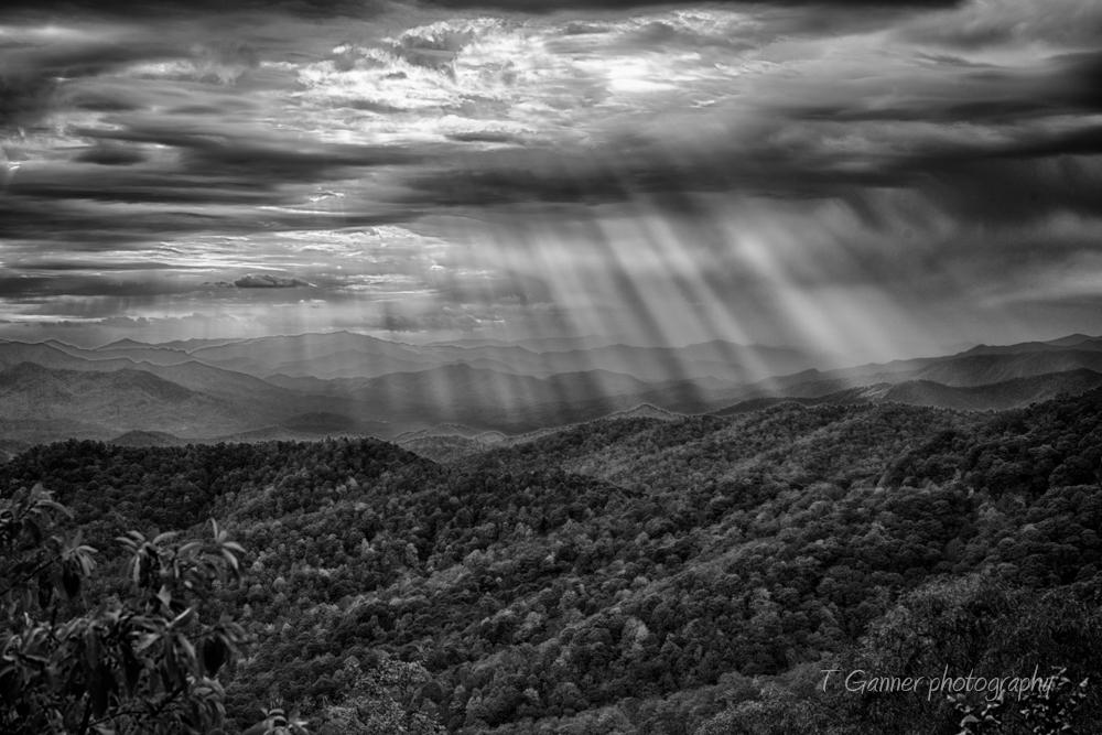 North Carolina, Brevard, autumn, foliage, Great Smokey Mountains, Blue Ridge Parkway