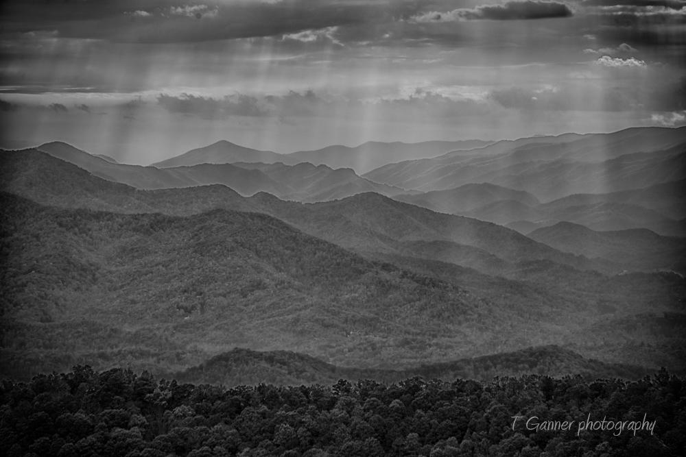 North Carolina, autumn, foliage, waterfall, Great Smokey Mountains, Blue Ridge Parkway