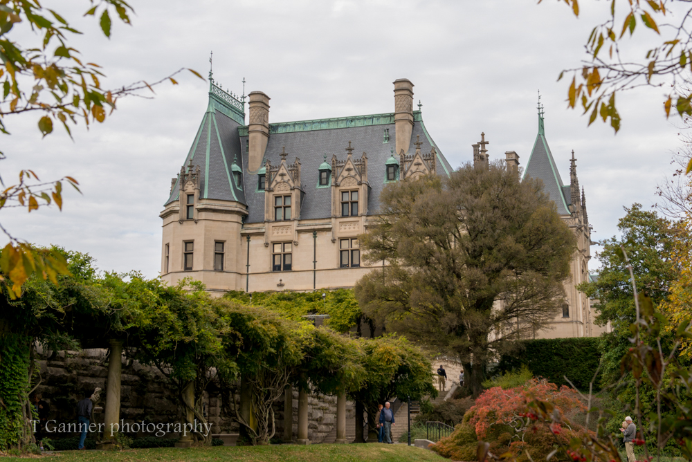 North Carolina, Asheville, Biltmore Estate, Vanderbuilt, autumn, foliage