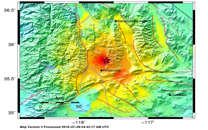Ridgecrest California Earthquakes | A report from the home front