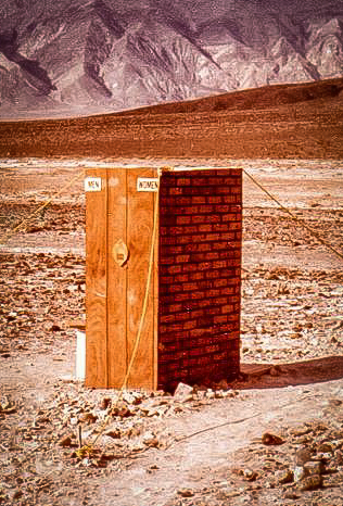 Saline Valley, Saline Chronicles, Saline Valley Outhouses, Lower Warm Spring, Saline Valley Chronicles