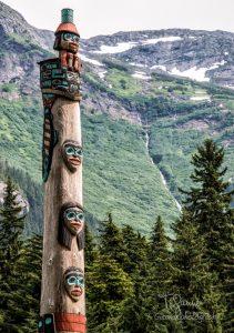Haines Alaska, Totem Trot, Totem Pole, Tlingit art