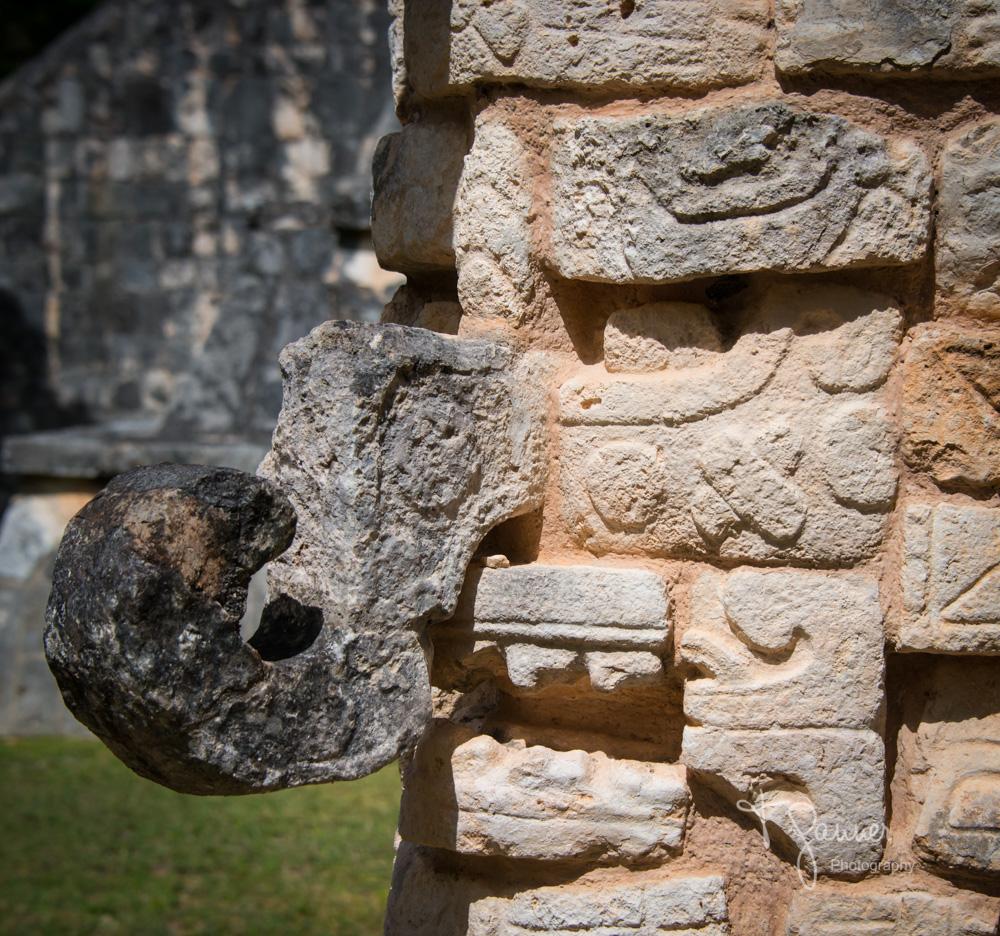 Chichen Itza, Maya, Mayan, Mayan culture, Yucatan, Mayan ruins, Ossuary, Tomb of the High Priest, Chaac