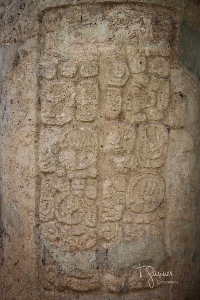 Dzibilchaltun, Maya, Mayan, Mayan culture, Yucatan, glyph, hieroglyph, Mayan ruins