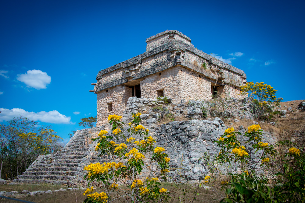 Dzibilchaltun, Maya, Mayan, Mayan culture, Yucatan, Temple of the Dolls, Temple of the Seven Dolls, Mayan ruins