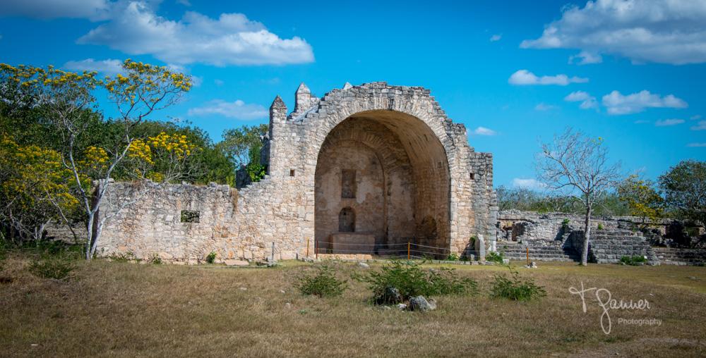 Dzibilchaltun, Maya, Mayan, Mayan culture, Yucatan, Mayan ruins, Spanish cathedral