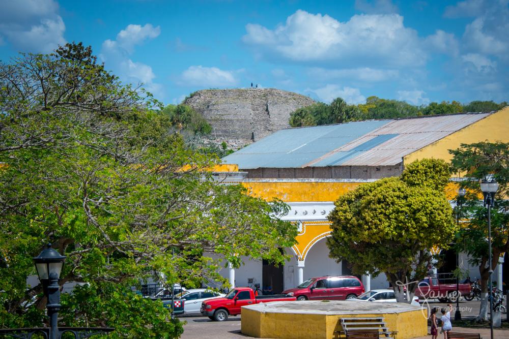 Izamal, Maya, Mayan, Mayan culture, Yucatan, Mayan ruins, Kinich Kakmo