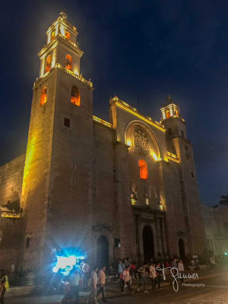 Yucatan, Merida Grand Plaza, Catedral de San Ildefonso, Merida Cathedral