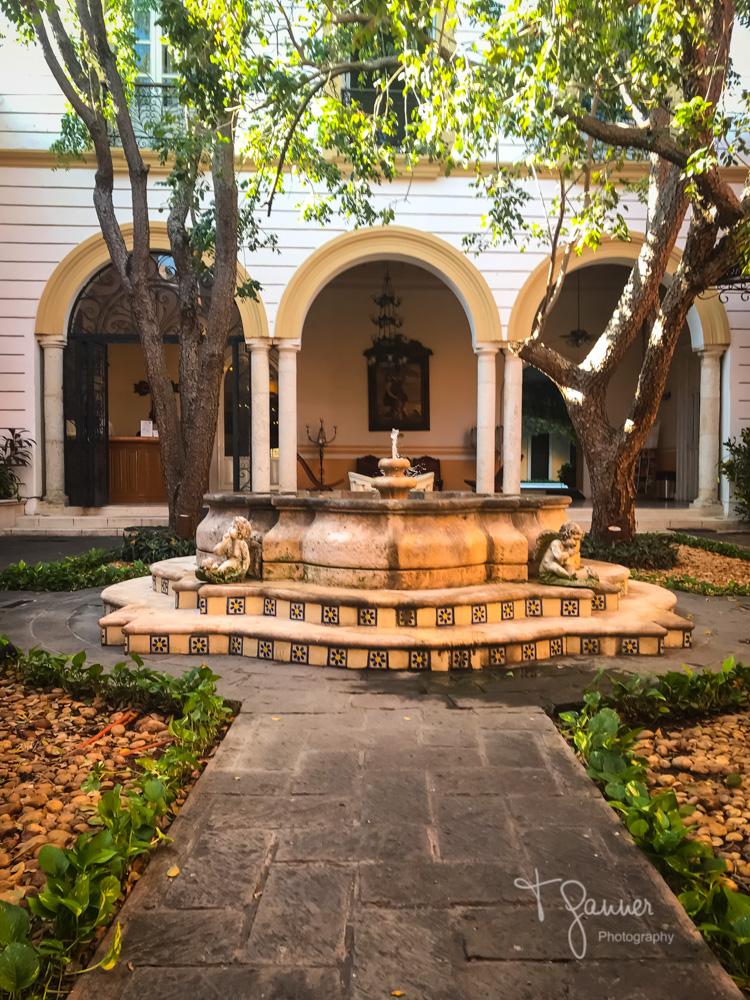 historic hotel,  Mision de Frey Diego, Merida, Yucatan