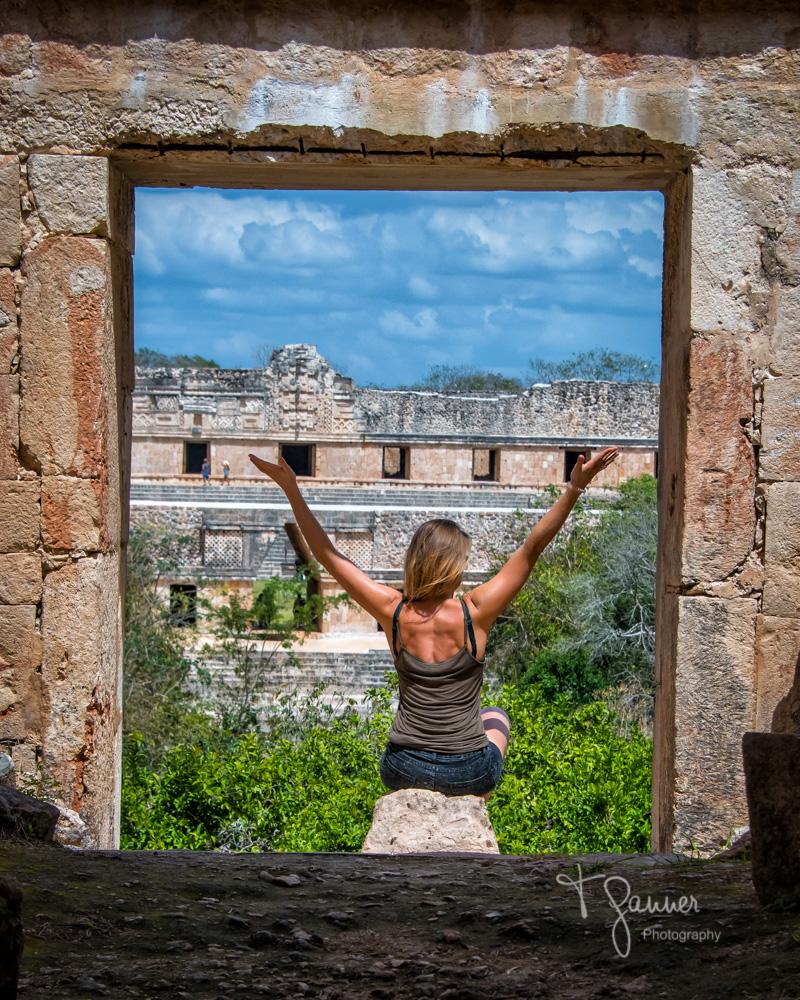 Uxmal, Maya, Mayan, Mayan culture, Yucatan, Mayan ruins, the Nunnery, House of Turtles