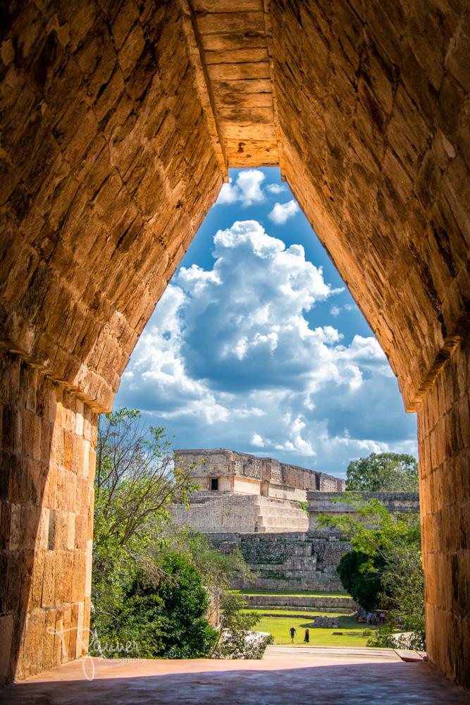Uxmal, Maya, Mayan, Mayan culture, Yucatan, Mayan ruins, the Nunnery, Governor's Palace